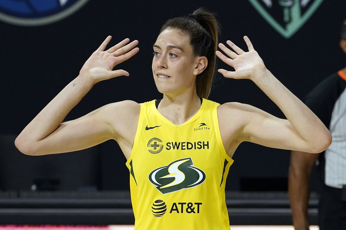 Seattle Storm legend Breanna Stewart signs deal with Puma and will be the first WNBA player in a decade to get her own signature shoe. https://t.co/QOxjDZtfy1