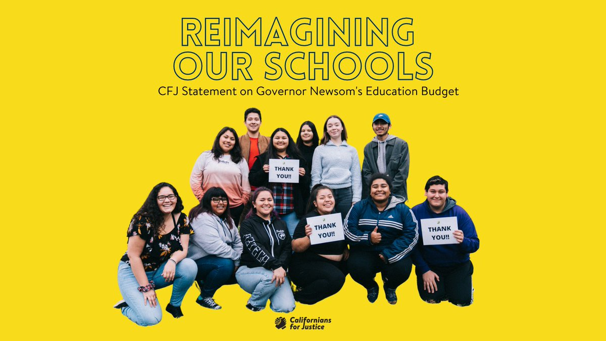 Thank you @Cal4Justice youth advocates and the #ReimagineSchoolsCA campaign for raising your voices for the funding students need and deserve AND continuing to advocate for a longterm investment in student social-emotional wellbeing