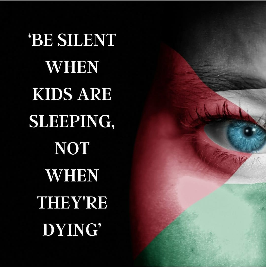 #FreePalestine #Gaza #AlAqsa #SheikhJarrah #IStandWithPalestine #EnoughIsEnough #SpeakUp #Humanity #HumanRights #Peace