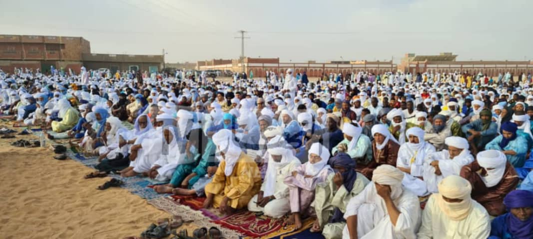 صور من مصلى العيد بـ يرج باجي مختار