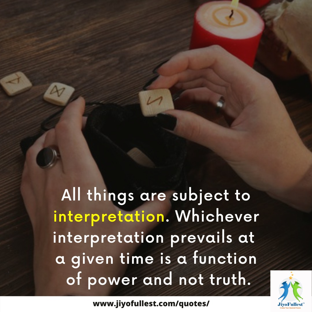Sometimes the reality is delusional and without truth based on which we interpret.  #jfquote #quoteoftheday #interpretation #truth #reality #challengeperception #mentality #truthoflife #Thursdaythoughts #thursday https://t.co/GdSgDKXerN