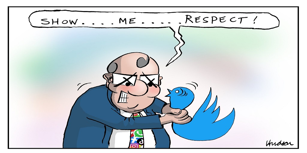 @HealyPip Why Scott Morrison doesn't like Twitter - 1. 'Twitter is the new Letters To The Editor, difference is we all get published'(Vince O'Grady) and 2. He can't control the narrative. #auspol #socialmedia