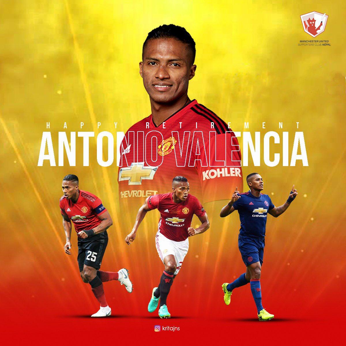 Gracias @anto_v25 . Thanks for everything ❤️🇪🇨  #MUFC #AntonioValencia https://t.co/JsEGwlktkb