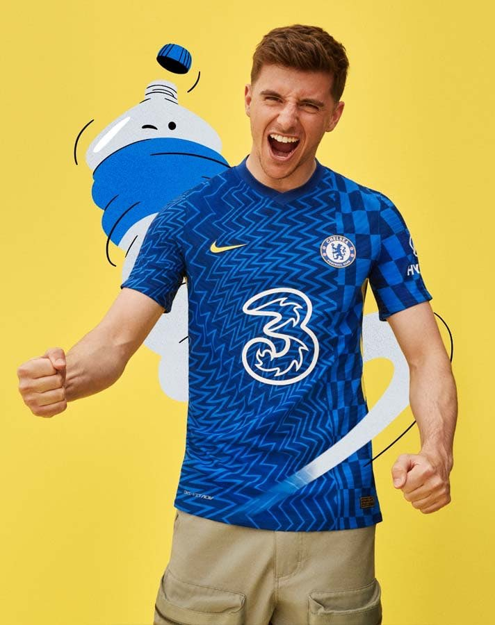 Chelsea have unveiled their new home kit for the 2021-22 season 💙 https://t.co/maLzdvkF2K