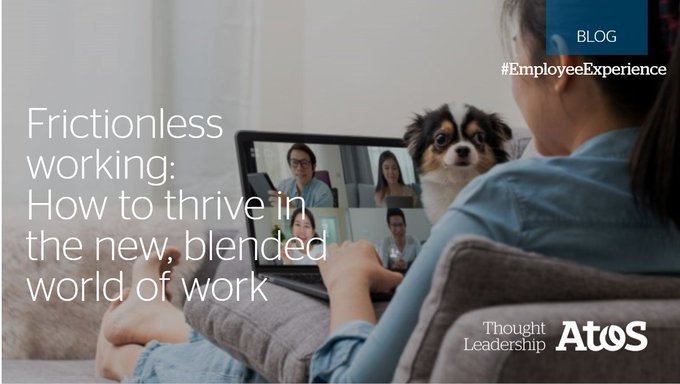 The new blended model of working will support employee safety and wellbeing while working...