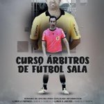 Image for the Tweet beginning: Curso para árbitro de Fútbol