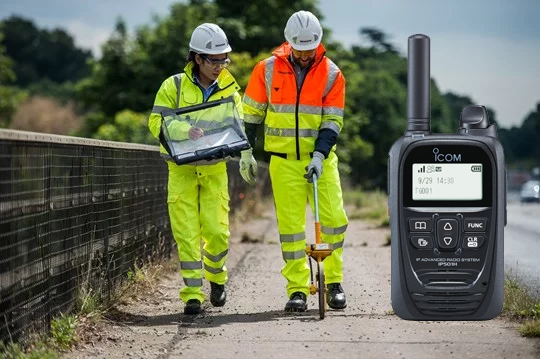 POC/LTE radio can assist highway maintenance! > https://t.co/pl9fEkldow #ICOM