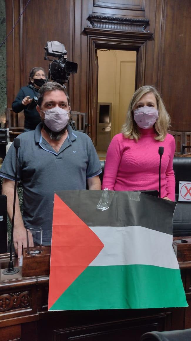 Lxs legisladorxs del #FrentedeIzquierda repudian el nuevo ataque genocida de Israel hacia el pueblo palestino.  #PalestinaLibre  #Palestina https://t.co/kAB3aVfZHK
