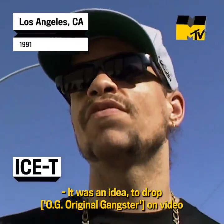 Ice-T (@FINALLEVEL) dropped his fourth album 'O.G. #OriginalGangster' 30 years ago! Back in 1991, he spoke with us about creating videos to accompany the release, and telling the album's story visually 🔥 https://t.co/rlZpJgegPz