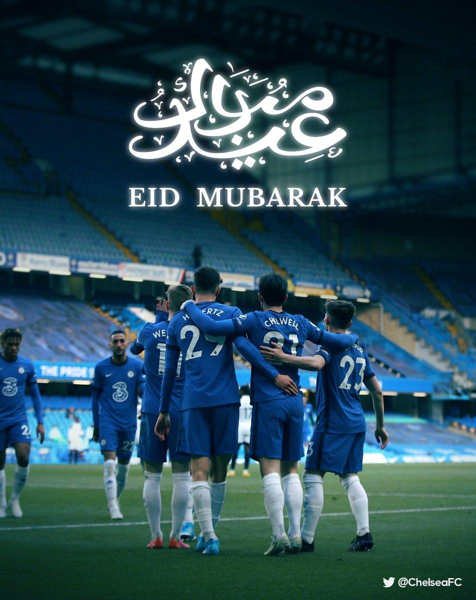 #EidMubarak to all the Chelsea fans celebrating around the world! 🌙