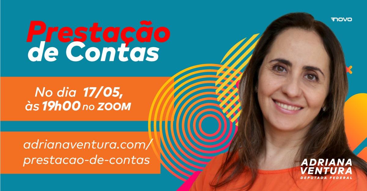 Bom dia, #gentequetrabalhacomtransparencia  Inscreva-se em https://t.co/ifnJlc9vHy para acompanhar nossa Prestação de Contas!! 📢📊#Transparencia #adrianaventura