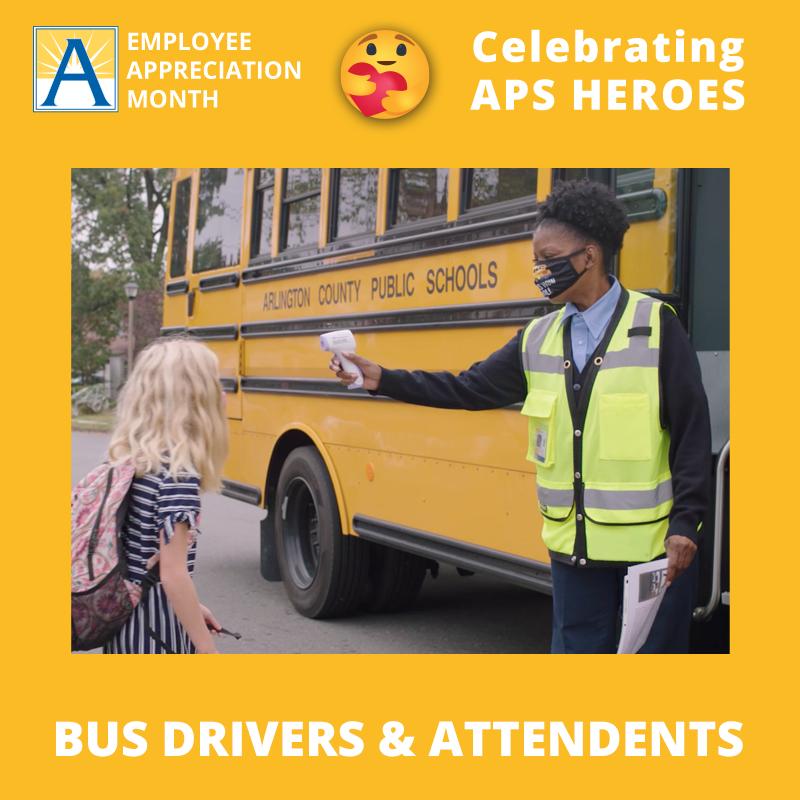 تشتمل قوة D-scale الخاصة بنا على سائقي الحافلات ، والعاملين في الحافلات ، والقيادة العنقودية ، وسائقي التأرجح ، والمرسلين ، وسائقي خدمات الطعام.APSالأبطال>APSHeroes؟ src = hash '> # ThankYouAPSأبطالAPSالموظف الشهر '>APSEmployeeAppreciationMonth؟ src = التجزئة '> #APSEmployeeAppreciationMonth https://t.co/aKVedYnpFE