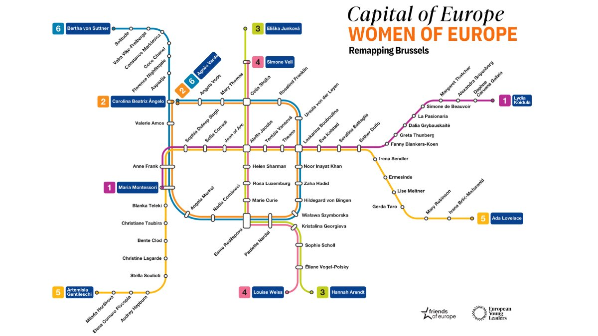 I'm happy to share my support for @friendsofeurope's initiative to recognize and celebrate women whose work has helped shape Europe. Learn more about this creative visual project which reimagines Brussels as a city of women: https://t.co/wtWnbb4Khc #CapitalofEuropeWomenofEurope https://t.co/WkT0kxIMCn