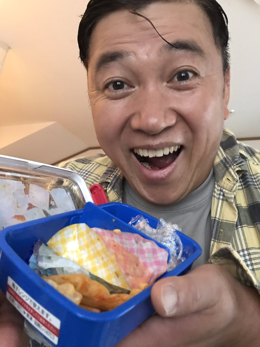 スギちゃんが初めてお子さんのお弁当を作ったんだぜ〜!
