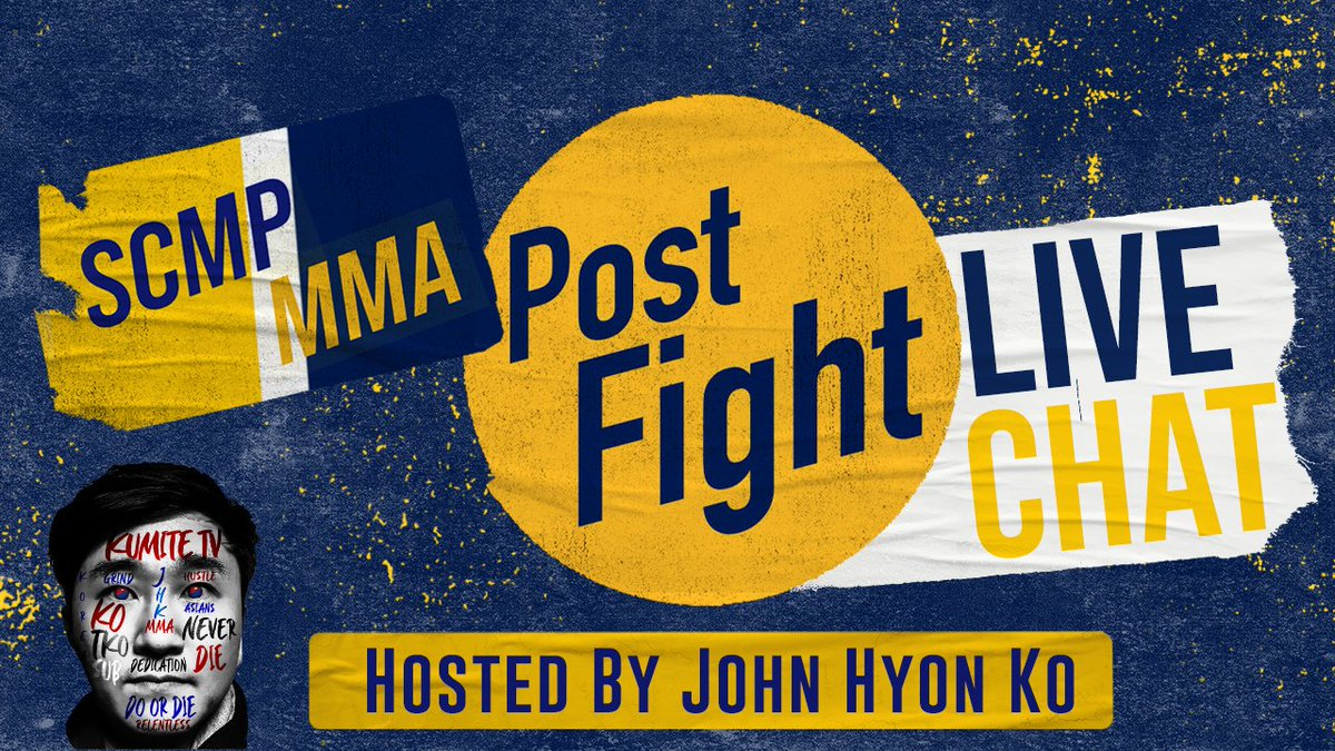 On this week's @scmpmma Live Chat/Q&A, I will be joined by @JeremyBrand604 of @MMASucka & @MMAdamMartin of @bjpenndotcom to discuss all the news and notes in the world of #MMA. Join us Thurs 9pm ET & catch the banter.   🔗 https://t.co/SNeA3KRP9I https://t.co/YQDY8FfD6C