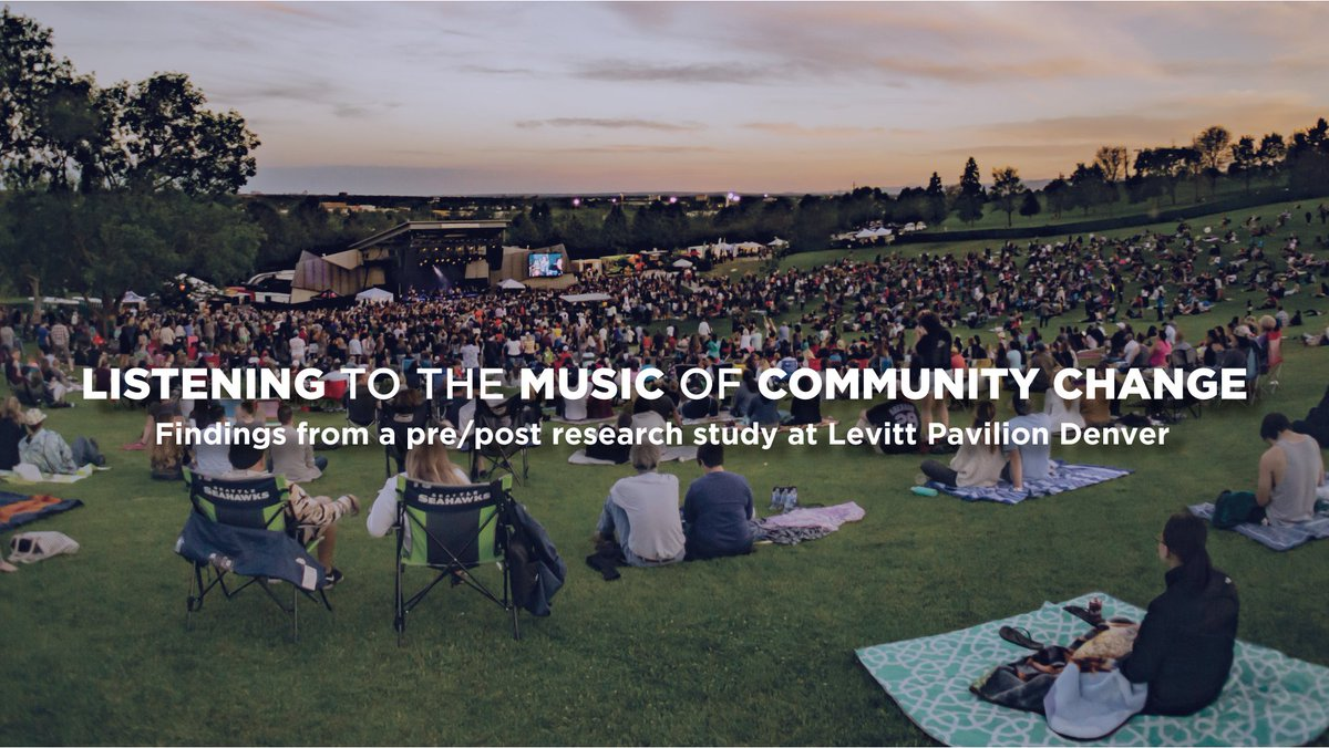 Equally thrilled to be co-author with @tanyatreptow on this #creativeplacemaking #research, a qualitative deep dive into the role of @LevittDenver and #arts in a changing place.   We hope it's useful to both funders and practitioners in equitable-arts-and-community-development.