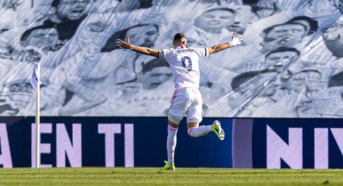 أكثر من سجل أهداف ضد غرناطة : كريم بنزيما 13