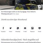 """Image for the Tweet beginning: Vorbildlich: """"180 Demonstranten"""", """"Tatverdächtige"""", """"antisemitischer"""