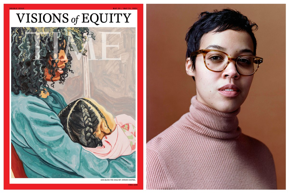 This week's powerful Visions of Equity cover is a special project, led by the BIPOC staff @TIME, on the fight for racial justice and building a better world https://t.co/CqbGnovrmf Read about the amazing cover artist Jordan Casteel https://t.co/bKs6bFWYec @lucy_feldman https://t.co/h8y7c8M2lc