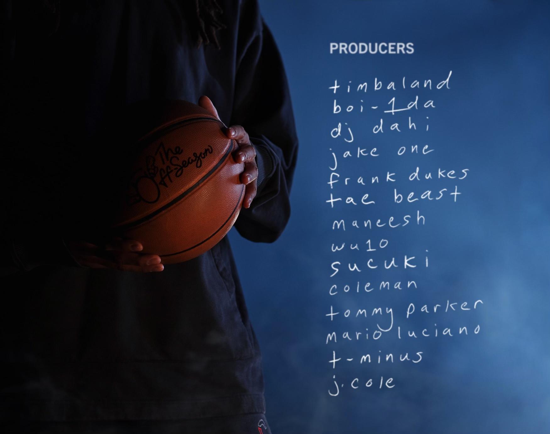 "Produtores de ""The Off-Season"", álbum de J. Cole"