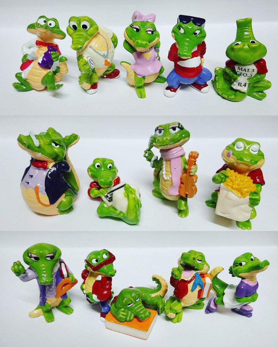 Kinder sorpresa colección cocodrilos 1992 https://t.co/iGmGmgxLxY