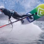 Image for the Tweet beginning: Balz Müller loves to windsurf
