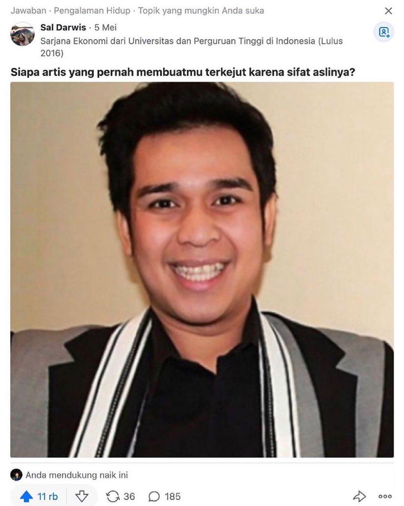 Cerita netizen soal sosok Olga Syahputra