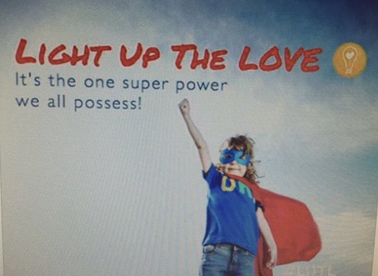 TY Chris! @ChrisCuomo I needed to hear your hopeful words yesterday. I am changing the game & choosing to #LightUpTheLOVE & be part of the solution. Actions of love, peace & unity always win. #StrongerTogether Join&Share @lightupthelove Global Movement 🙏🏻#LUTL💡🆙❤️@donlemon @cnn