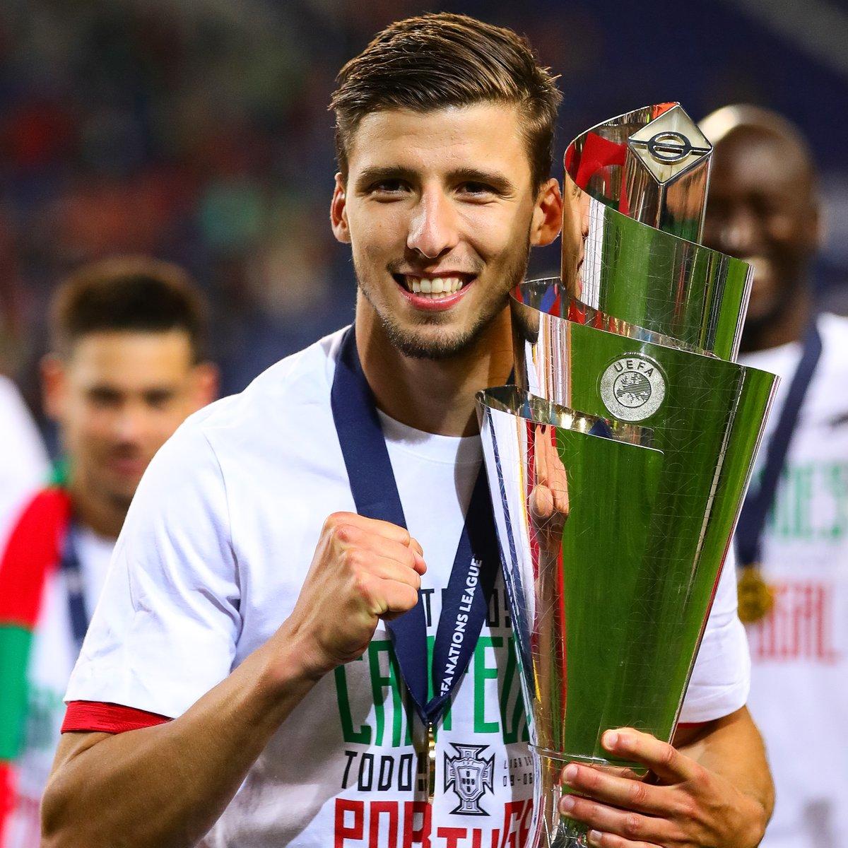 ⏪ Celebrating Rúben Dias' birthday with his goal against Croatia 🤩  #HBD | @selecaoportugal | @rubendias