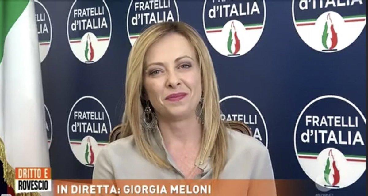 Giorgia Meloni 🇮🇹 ن (@GiorgiaMeloni) | טוויטר