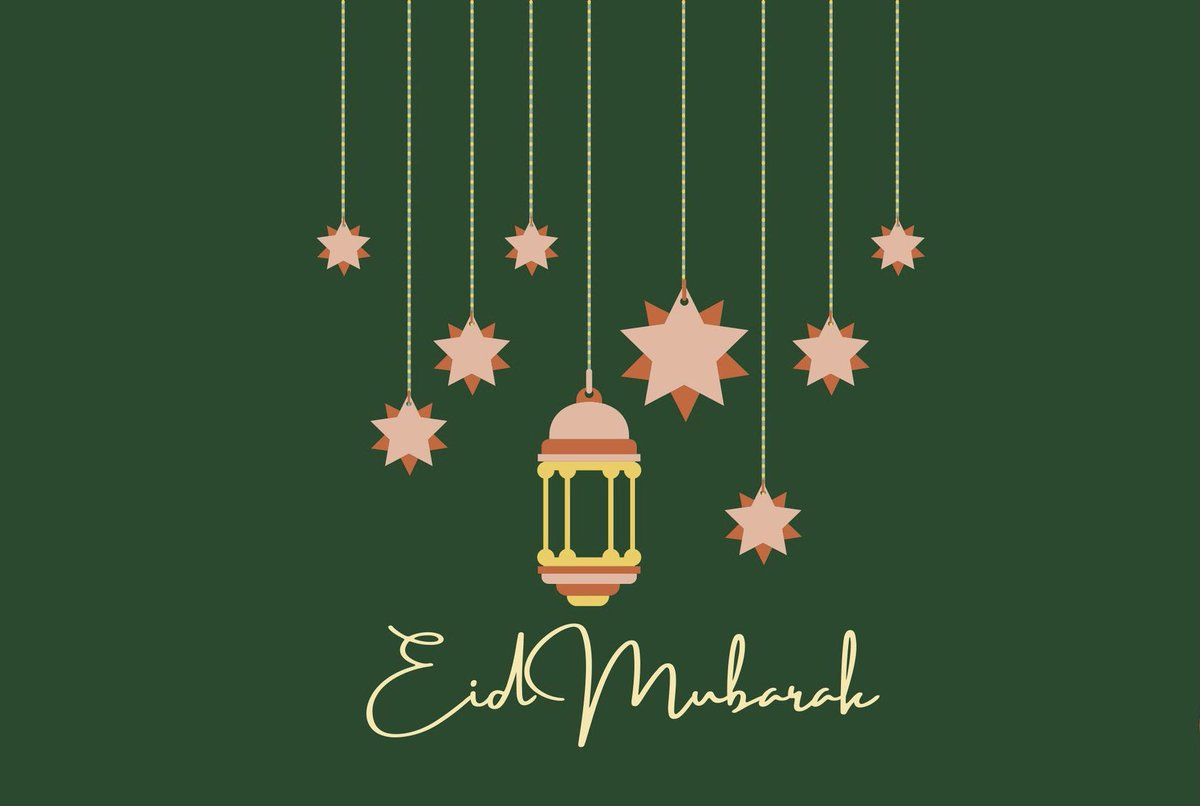 Eid Mubarak to all in our community who are celebrating!