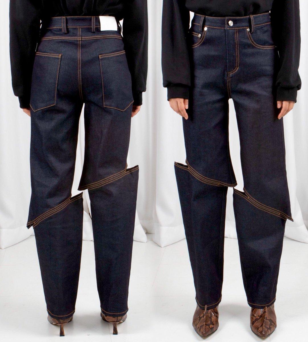 Jeans by LEJE https://t.co/hhqpV0kvMi