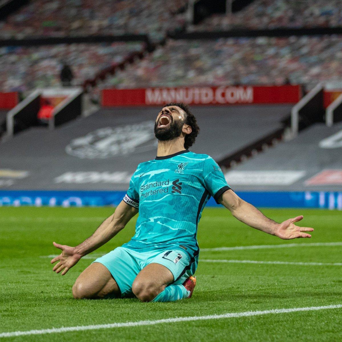 محمد صلاح يسجل +٣٠ هدف مع ليفربول في جميع