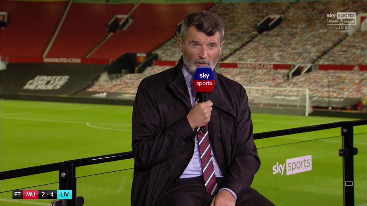 "🗣""As long as them 2 (Fred & McTominay) are playing in midfield for Manchester United they will be winning any big trophies.""  Roy Keane's honest assessment of Manchester United and says it is scary how far behind Manchester City they are https://t.co/HzCQDcGArL"