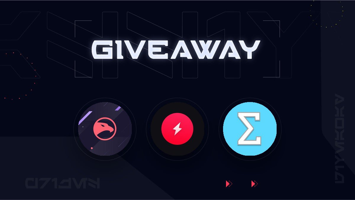 It's time for a giveaway 🎁   1x @HawkRobotix License 1x @AMNotify monthly  1x @sigmabots monthly  To Enter… 👇 • RT • Like • Follow all accounts!  Good luck! https://t.co/bu8CTQAIr9