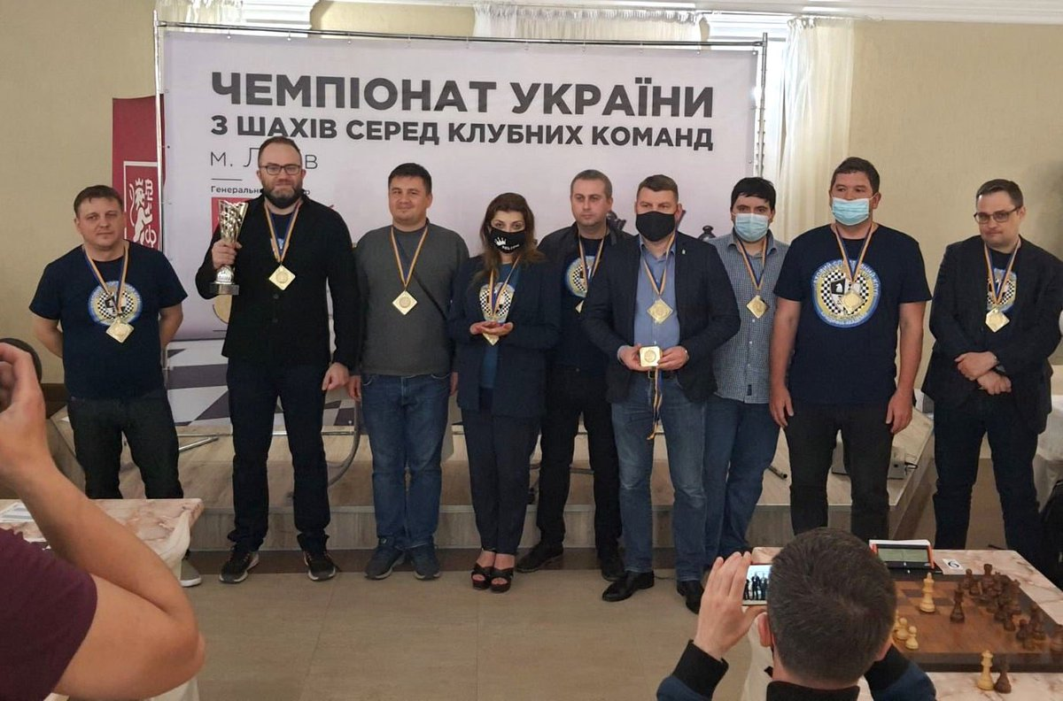 "test Twitter Media - ""Law Academy"" (Kharkiv) claimed double gold at the Ukrainian Team Championship 2021 winning all matches in both classical and rapid competitions.  Results: https://t.co/gvHSiPjWVw  📷: Ukrainian Chess Federation https://t.co/iVjyPPM9Q5"