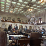 Image for the Tweet beginning: Earlier today some Texas House