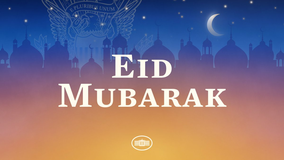 As Ramadan comes to an end, Muslims around our country and the world celebrate the breaking of the fast with family and friends. Eid Mubarak to all who are celebrating!