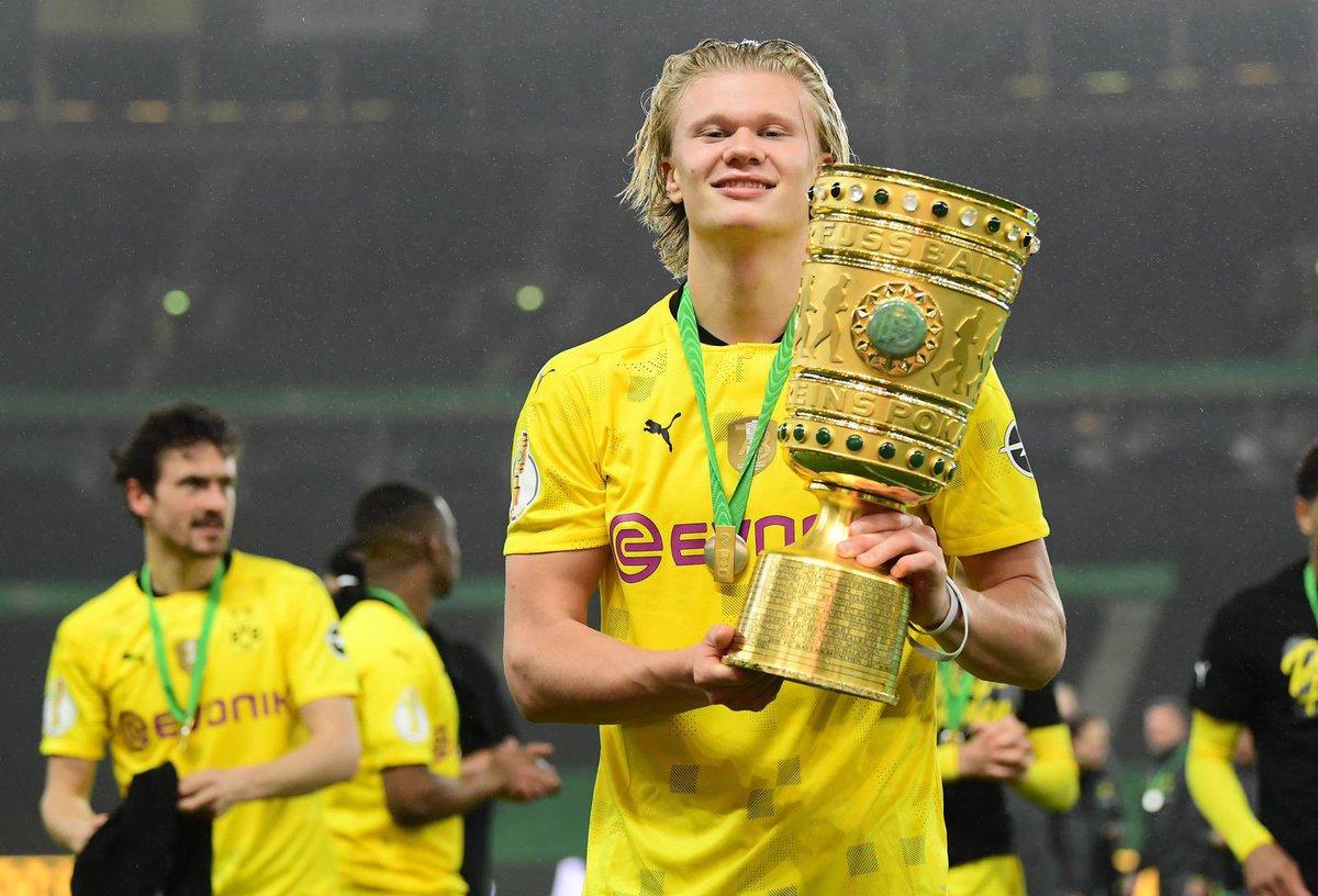 "Borussia Dortmund on Twitter: ""Berling Haaland 🏆… """