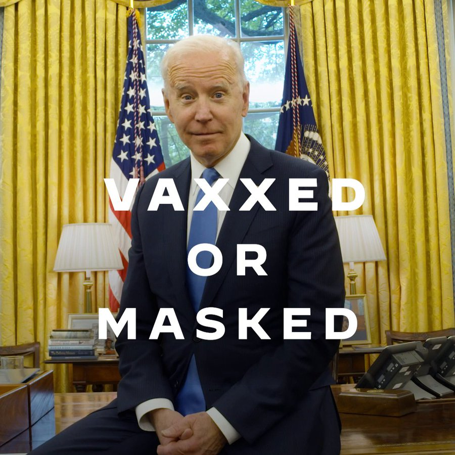 "Breaking: President Biden""The choice is yours."""