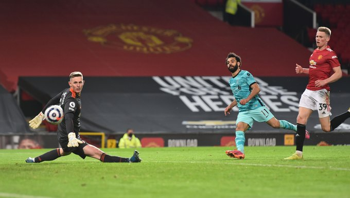 محمد صلاح أصبح ثاني لاعب في تاريخ ليفربول