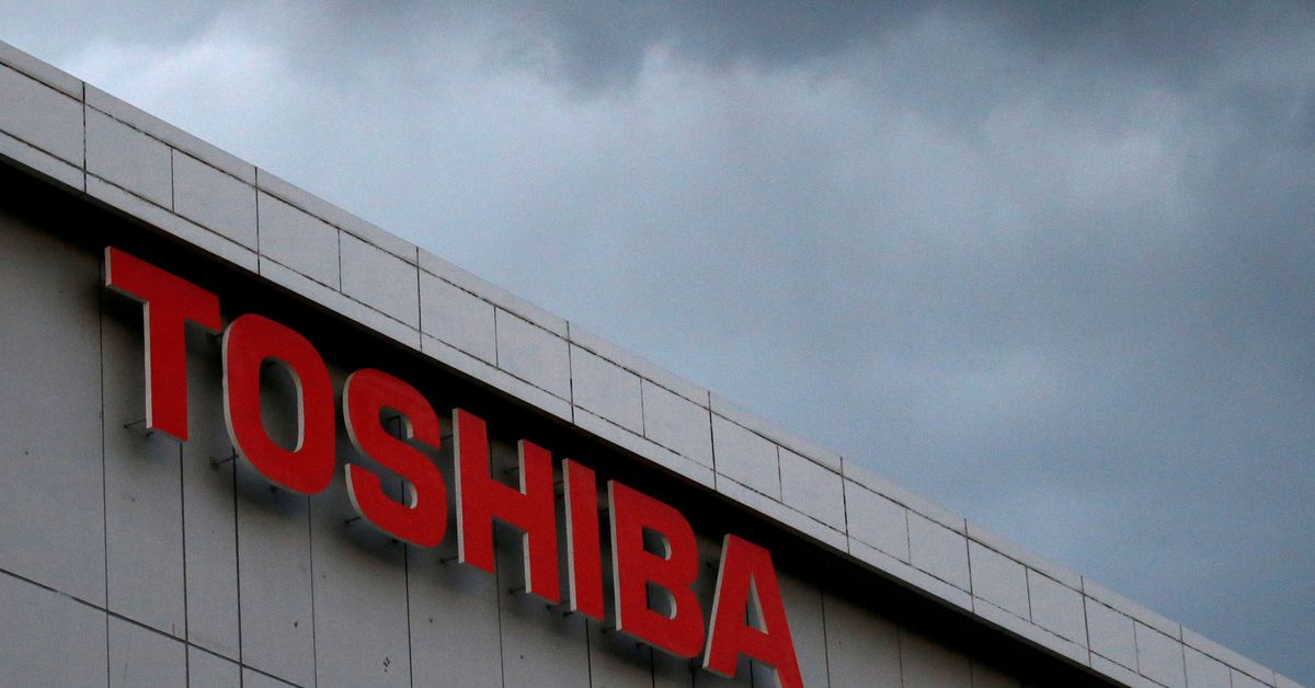 Toshiba to undergo strategic review, unit hit by cyberattack in Europe