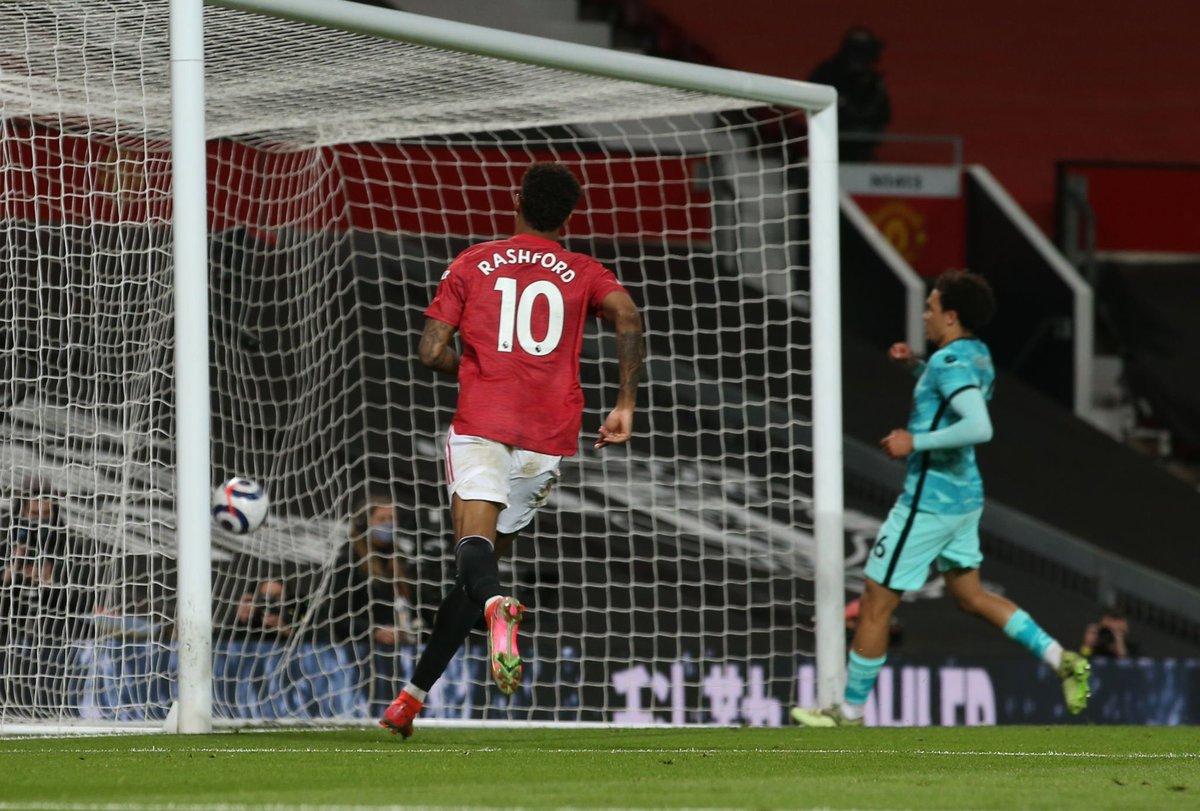 ماركوس راشفورد سجل هدفه الخمسين على ملعب