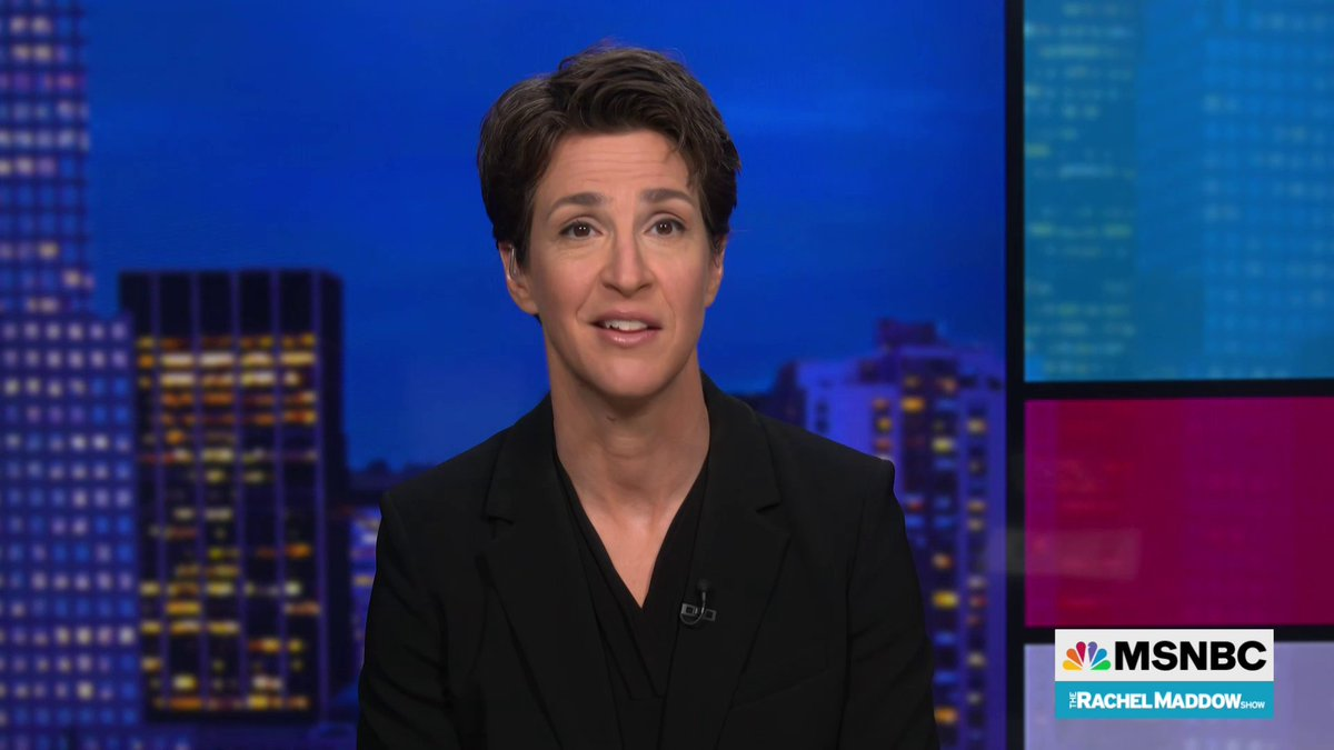 Related: @maddow