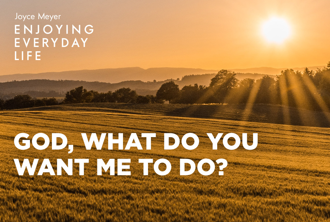 God's plans are always better than our own. Be encouraged to follow His lead as Joyce shares more teaching from John 21 at https://t.co/p2QYBoJEAE #EnjoyingEverydayLife #TodaysShow https://t.co/Yq9uVw2ZX5