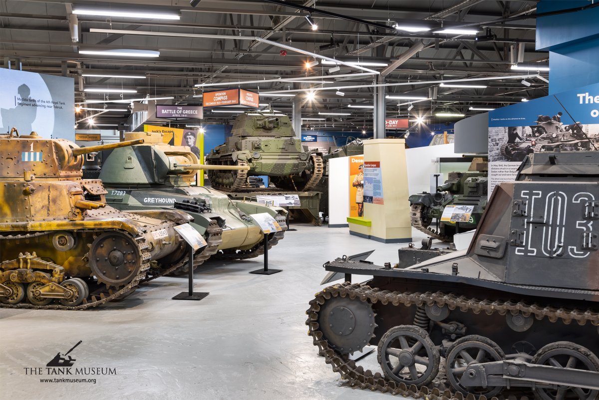 *Tank Museum Jobs* Applications close on Monday for Marketing, Graphics and Front of House jobs. A great place to work and more tanks than most other offices. See here for details https://t.co/mZ7Q3GzDlr https://t.co/sV4TXI9Y3n
