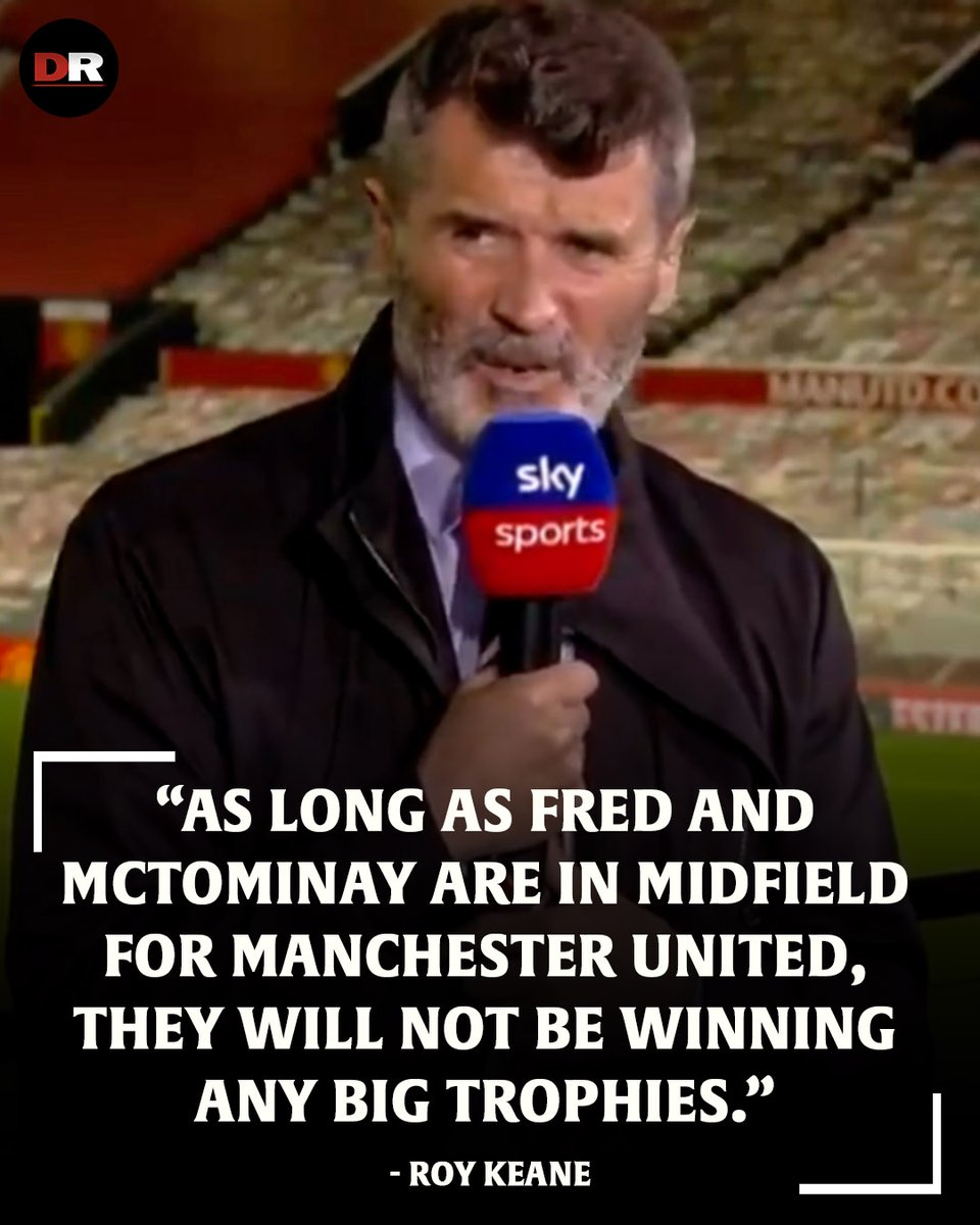 """🗣 """"All of United's shortcomings have been shown up in the last couple of days.""""  Do you agree with Roy Keane that Fred and McTominay are not good enough for Man Utd? 🤔 https://t.co/RHl95IEKnk"""