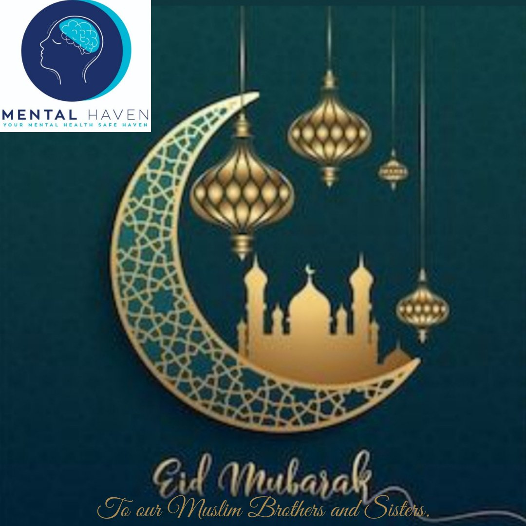 Eid Mubarak to all our Muslim Brothers and Sisters💜🥳. #FridayMotivation #EidMubarak #EidUlFitr #celebration #MentalHealthAwareness #MayWard
