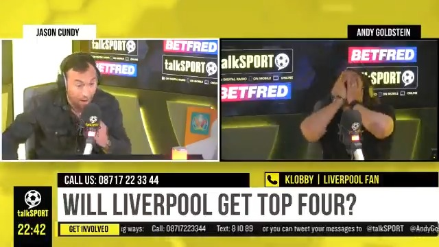 """👏 𝗞𝗹𝗼𝗯𝗯𝘆: """"Liverpool showed bravery.""""  🤔 𝗔𝗻𝗱𝘆: """"Did you watch it tonight?""""  📺 𝗞𝗹𝗼𝗯𝗯𝘆: """"Yeah, I watched some of it... I was watching Vera instead.""""  #LFC fan Klobby didn't give his side's game v #MUFC his full attention 😂  *Warning: Contains Vera spoilers!* https://t.co/HkbjoktHAU"""