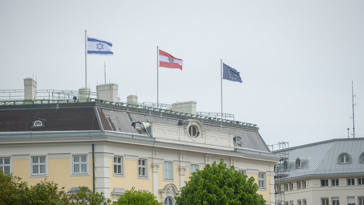 Thank you Chancellor @sebastiankurz and the people of Austria for standing with Israel 🇦🇹🇮🇱